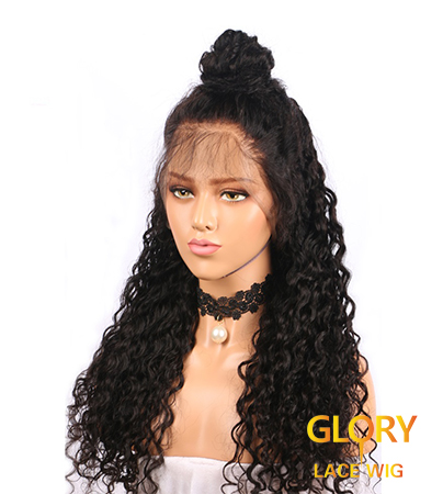 Cheap Peruvian Deep Curly 360 Lace Wigs For Women 22inch