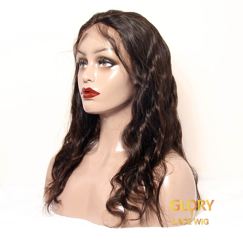 Human Hair Body Wave Lace Front beautifu Wigs For Black Women 22inch