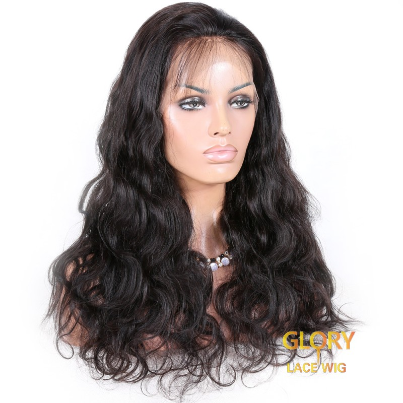 Best 150% Density Glueless Body Wave Lace Front Beautiful Wigs Pre Plucked Hairline 20inch