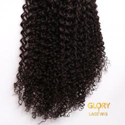 Deep Curly 360 Lace Wigs Natural Color 20inch 180% Density