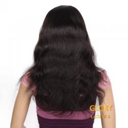 Wholesale Glueless Natural Color Body Wave Lace Front Wigs With Baby Hair
