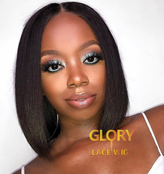 Wholesale Glueless Malaysian Virgin Hair Bob Straight 360 Lace Wigs 10inch