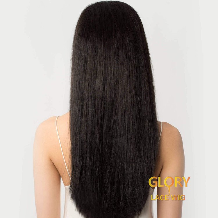 Chinese Virgin Hair Glueless Straight Full Lace Long Wigs 22inch