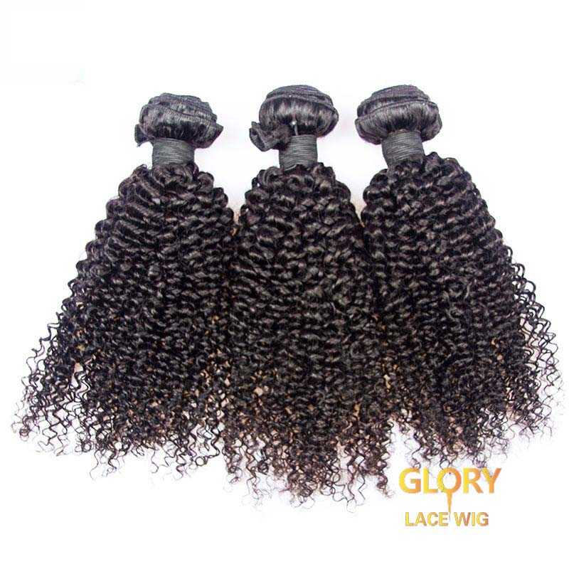 Wholesale Cheap Malaysian Virgin Hair Kinky Curly Hair Bundles 3pcs 16inch