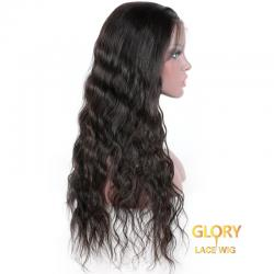 180% Density Beautiful Glueless Loose Wave Full Lace Long Wigs 24inch