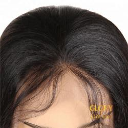Beautiful Straight Glueless Lace Front Long Wigs With Baby Hair 22inch