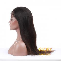Best Quality Cheap Natural Color Straight 360 Front Wigs Pre Plucked Hairline 22inch