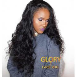 Good Quality Cheap Natural Wave Brazilian Human Hair Full Lace Wigs Pre Plucked Hairline 22inch