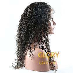 Wholesale Peruvian Deep Curly Full Lace Wigs For Black Women 20inch
