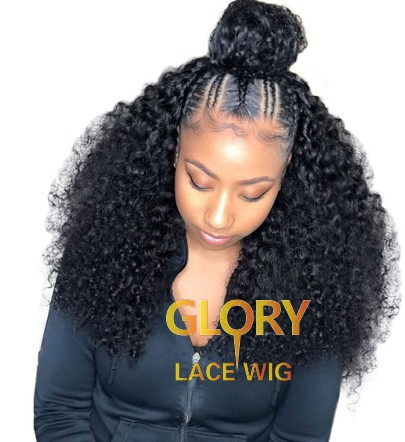 180% Density Best Deep Curly Malaysian Human Hair 360 Lace Wigs 22inch