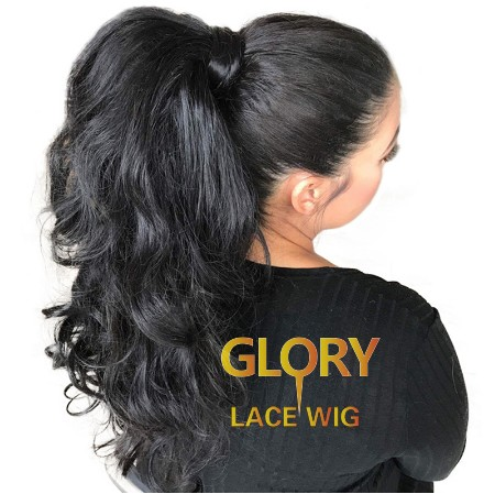 Beautiful Brazilian Human Hair Body Wave 360 Lace Wigs For Black Women 20inch 150% Density