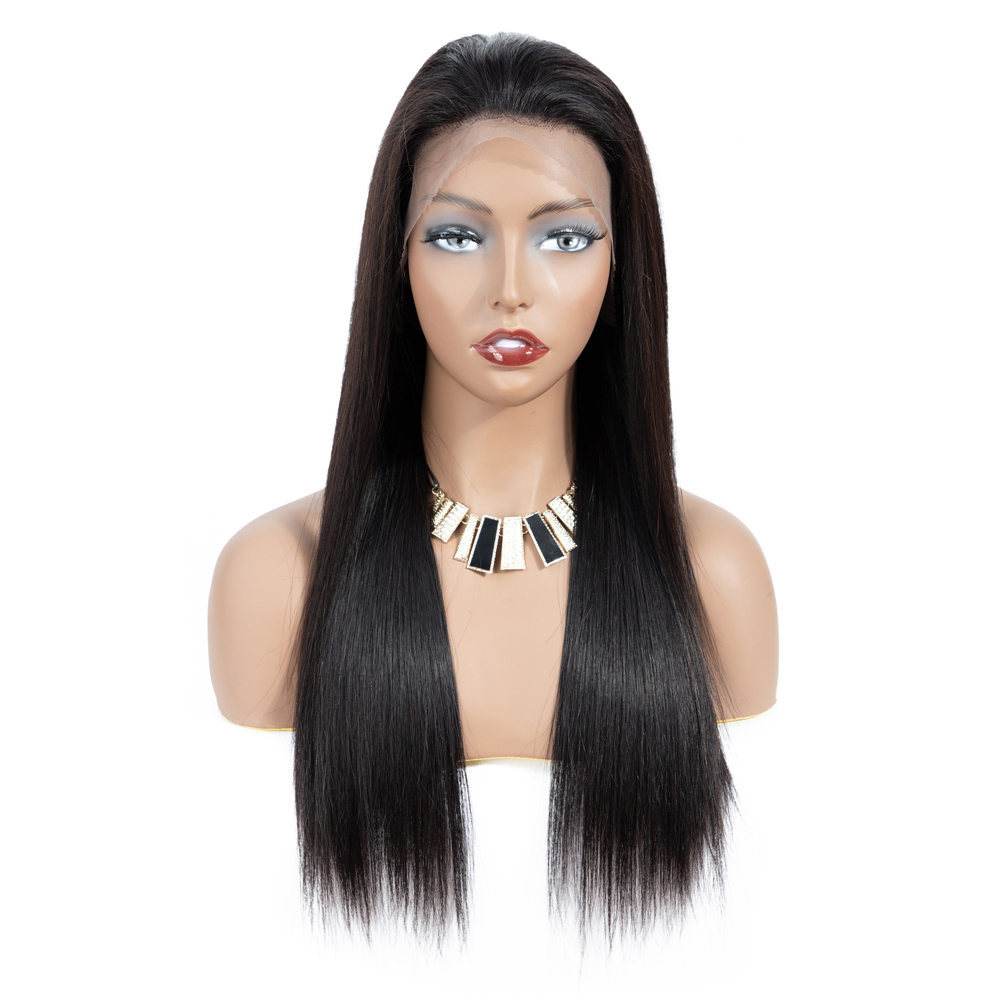 Wholesale Best Glueless Straight 360 Lace Wigs With Baby Hair 20inch