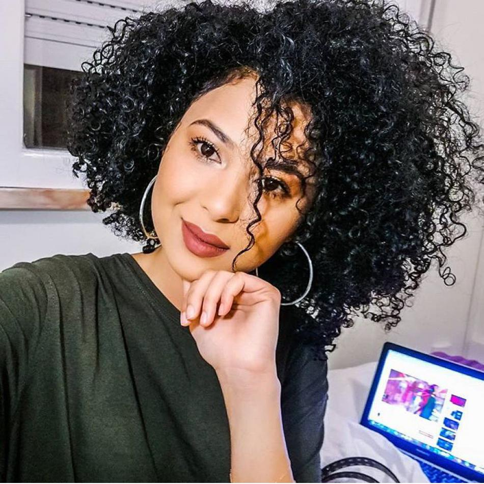 Brazilian Virgin Human Hair Afro Curly Full Lace Wigs Pre Plucked Hairline