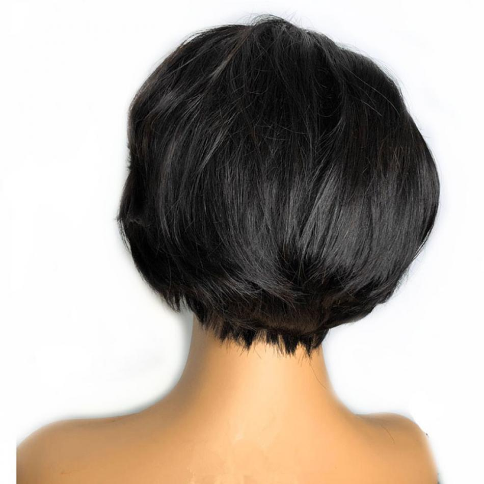 Short Bob Pixie Cut Wig Lace Front Human Hair Wigs For Black Women