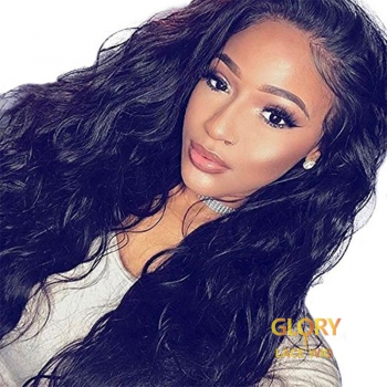 Peruvian Loose Wave Full Lace Wigs With Baby Hair 22inch